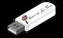 usb with logo